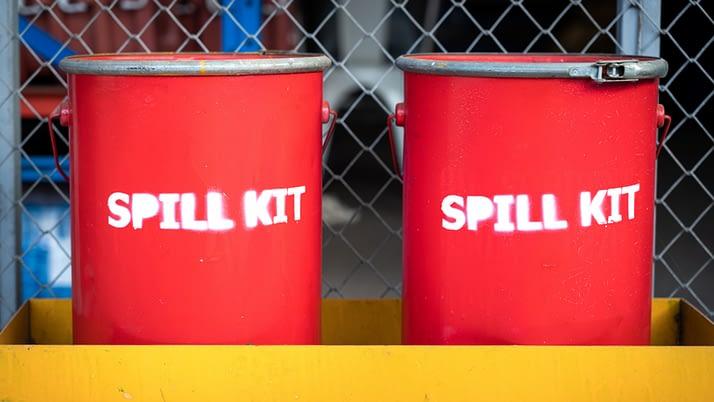 Oil Spills On Board